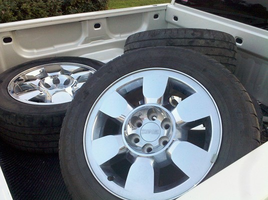 ebay chrome gmc set oem sierra s p factory of wheels rims exchange