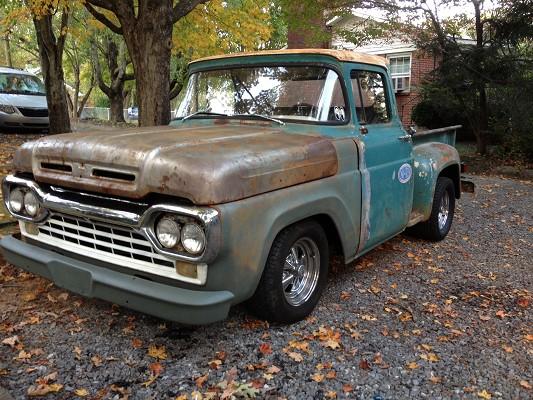 1960 Ford F100 Oil Pump
