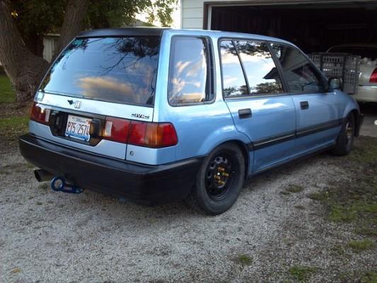 honda civic station wagon 1989