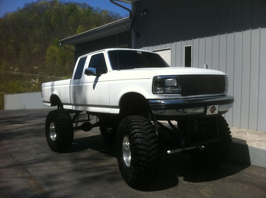 Fuel Truck Wheels >> 1992 Ford F150 $11,900 Possible trade - 100577651 | Custom Lifted Truck Classifieds | Lifted ...