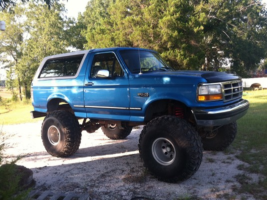1994 Ford Bronco 1 Possible Trade 100592047 Custom