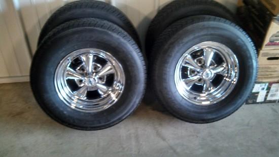14x7 Cragar SS Vintage Wheels W/ Good Tires $600 or best ...