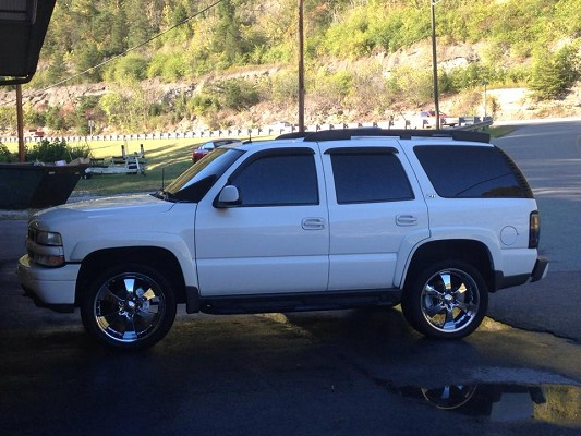 2003 chevrolet tahoe 9 500 possible trade 100609070 custom show suv classifieds show suv. Black Bedroom Furniture Sets. Home Design Ideas