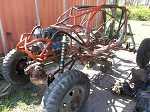 2012  4 seat rock bouncer buggy