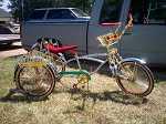 2012 Fiat lowrider trike