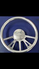 BAD steering wheel with adaptor