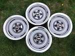 Chevy 5x5 Steel Wheels