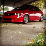 2006 Honda Civic Si with 09 front end