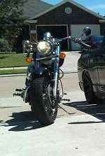 2000 Honda shadow