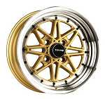 Drag DR-20 Work Equip 03 Style Wheels Rims 15x7