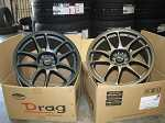 Drag DR-31 Work Emotion CR Kai Style Wheels
