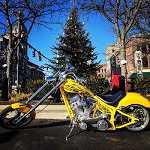 2010 Harley-Davidson Route 66 custom chopper