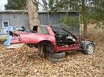 parting out 1989 89 chevy corvette car