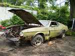 70 71 72 73 MUSTANG MACH 1 PARTING OUT CAR