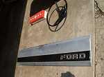 87-96 FORD TAILGATE TRIM PANEL TRUCK F150 F250 F35