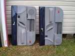 98-10 Volkswagen VW Beetle Front Door Panels BLUE