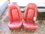 RARE PONTIAC TRANS AM FIREBIRD BUCKET SEATS 70 71