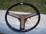 68 74 Pontiac Steering Wheel Firebird GTO T/A WOOD