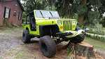 1992 Jeep Lifted v8 YJ