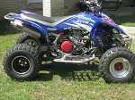2007 Yamaha YFZ450 Bill Ballance Edition