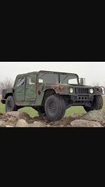 1987 Hummer Troop carrier