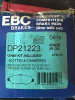 EBC Greenstuff 2000 Organic Brake Pads DP21223