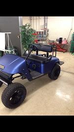 2001 EZ-GO golf cart