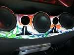 Custom Fiberglass Box With Speakers