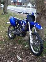2003 Yamaha YZ250F