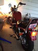 1984 Honda honda shadow