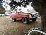 1978 Ford bronco trade for mustang