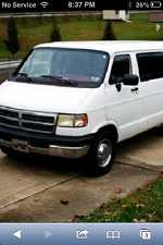 1994 Dodge Church Van Cheap