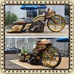 "2010 Harley-Davidson Turbo Lay Frame 32"" Road Glide"