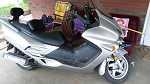 2007 Honda reflex 250 cc