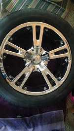 18 inch Zinik wheels