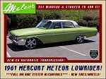 1961 Mercury Meteor
