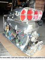 New BBC Custom Built Electronic F/I Nitrous System