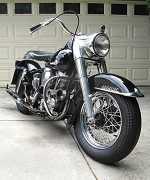 1961 Harley-Davidson Pan head Duo Glide