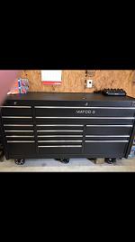 Matco 4s Silver triple bay tool box
